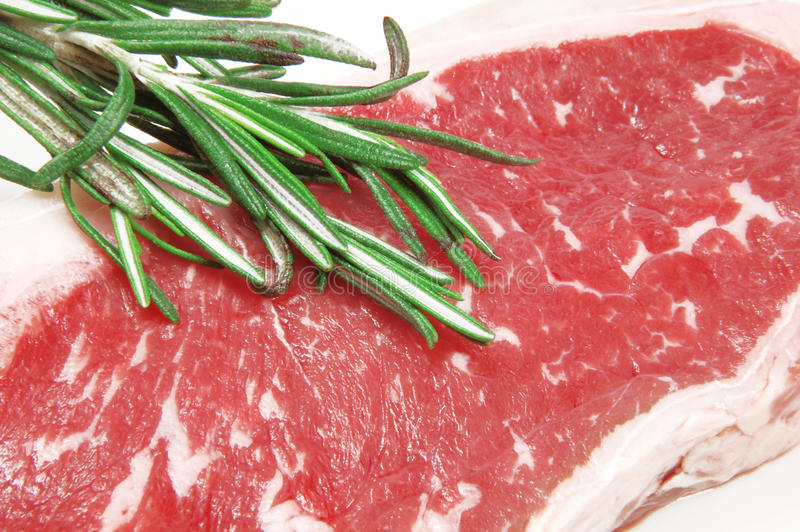 Carne marmoreada fotografia de stock