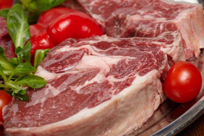 Carne per bistecca fotografia stock libera da diritti