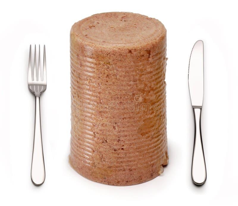Carne per il pranzo fotografie stock