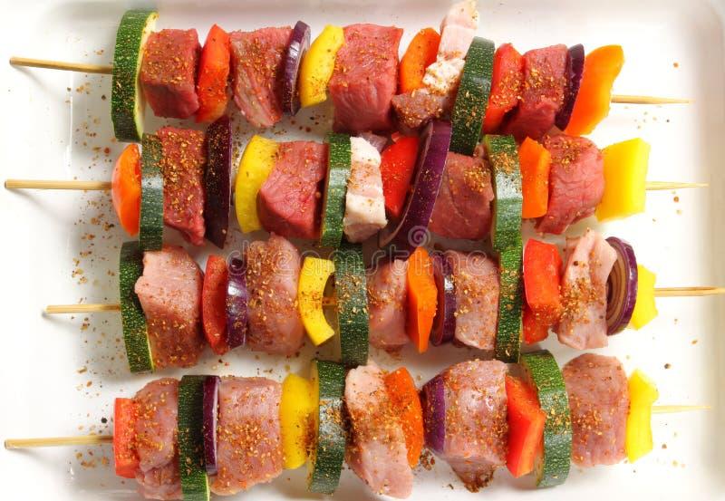 Carne picante foto de archivo libre de regalías