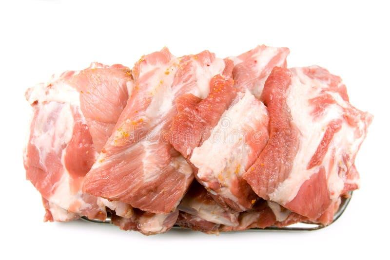 Carne sin procesar del corte fresco foto de archivo libre de regalías