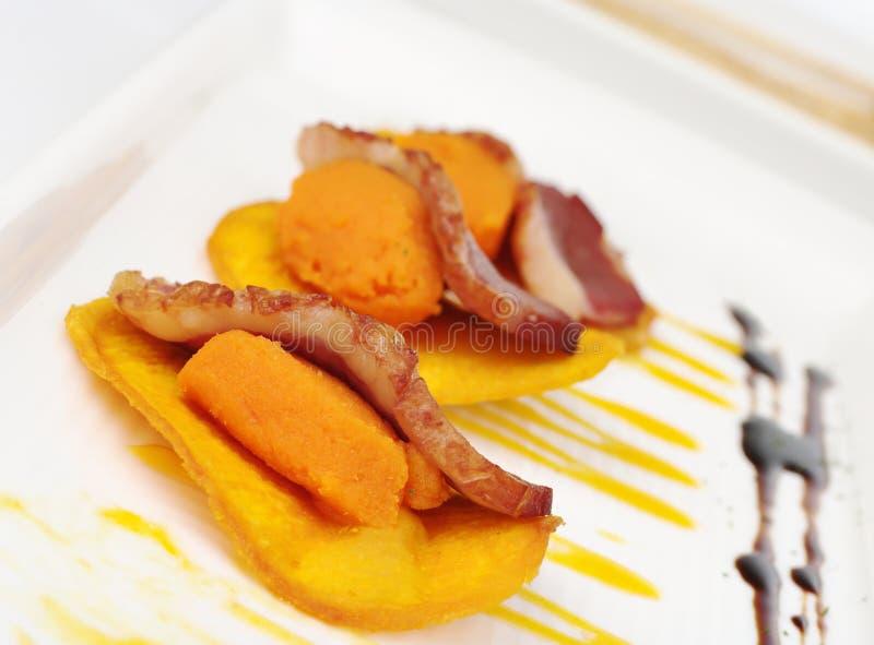 Carne su Camote immagine stock libera da diritti
