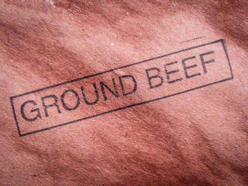 Carne trittata fotografia stock libera da diritti