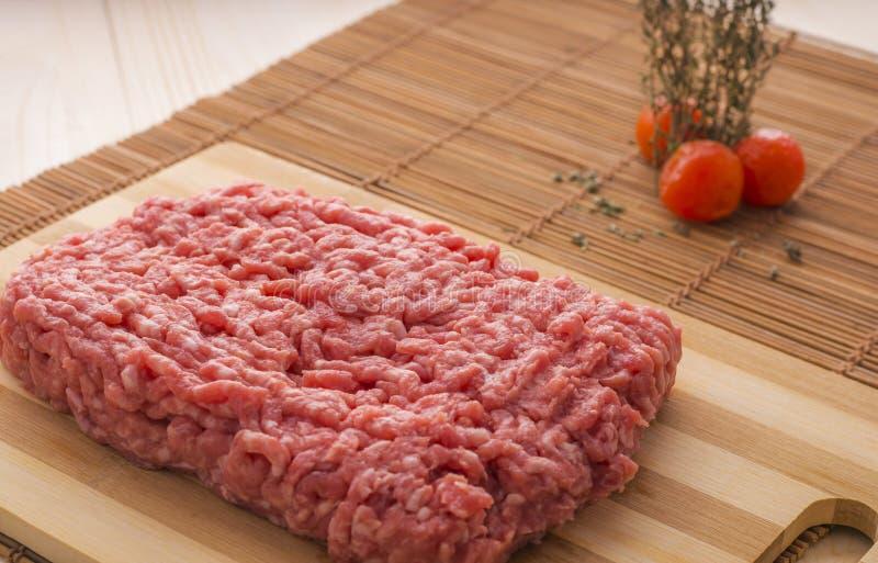 Carne triturada imagem de stock