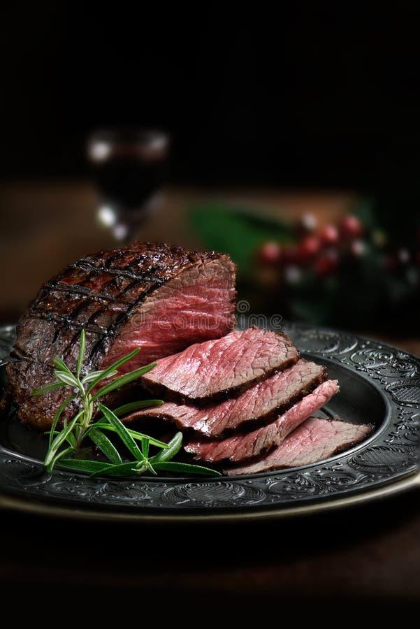 Carne V do Silverside imagens de stock