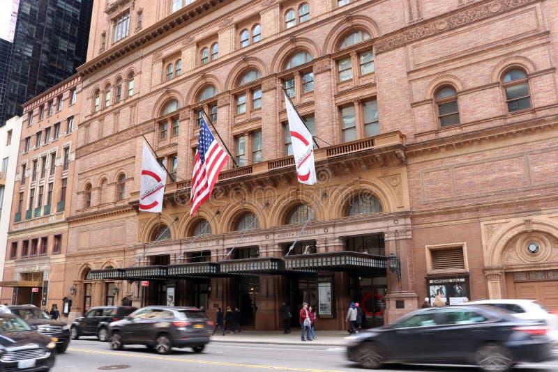 Carnegie Hall imagem de stock royalty free