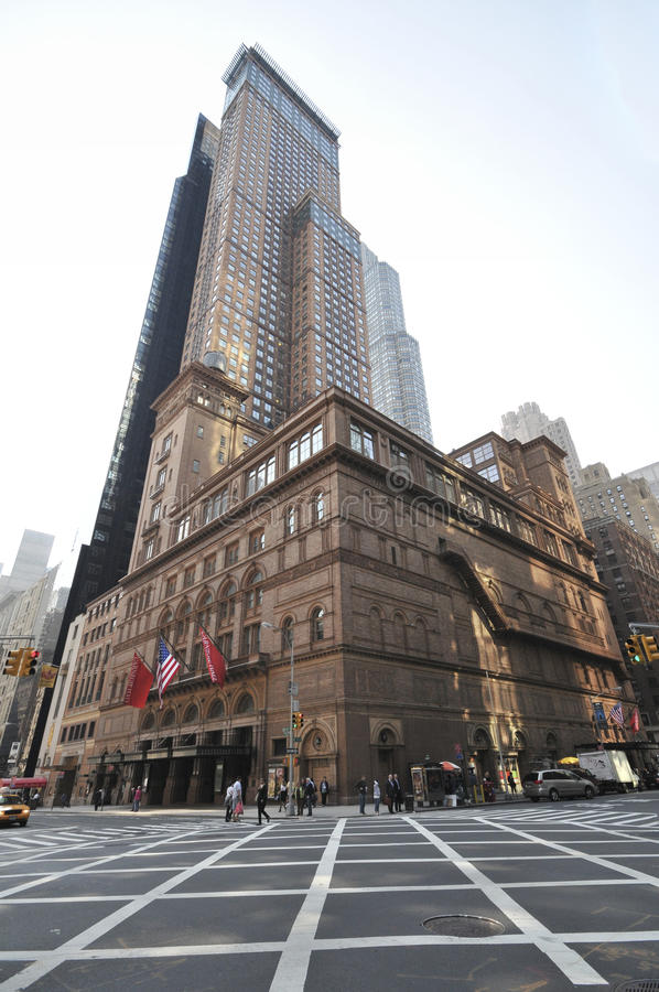 Carnegie Hall royalty free stock photography