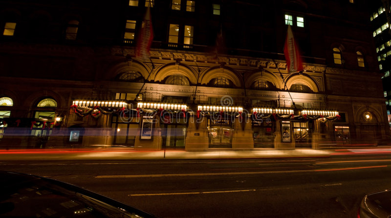 Carnegie Hall stock images