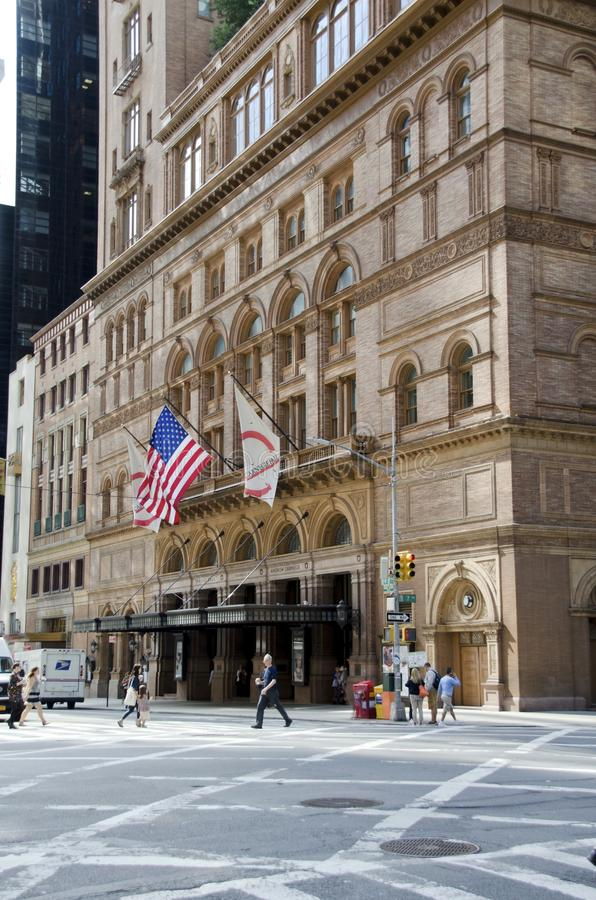 Carnegie Hall fotografia de stock royalty free
