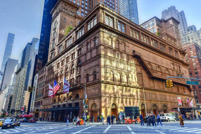 Carnegie Hall - New York City foto de stock