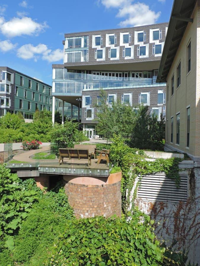 Carnegie Mellon Center das portas foto de stock royalty free