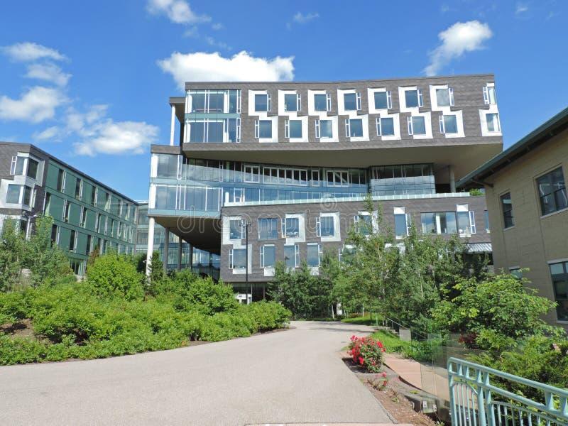 Carnegie Mellon de centro de las puertas fotos de archivo