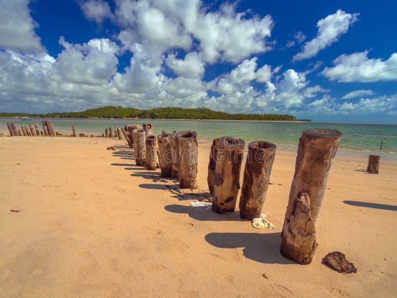 Carneiros beach royalty free stock photography