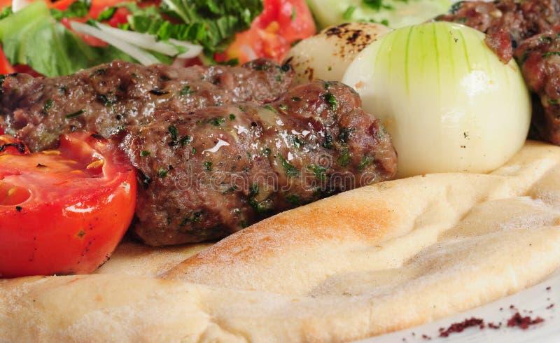 Kebab de Shish. fotografia de stock royalty free