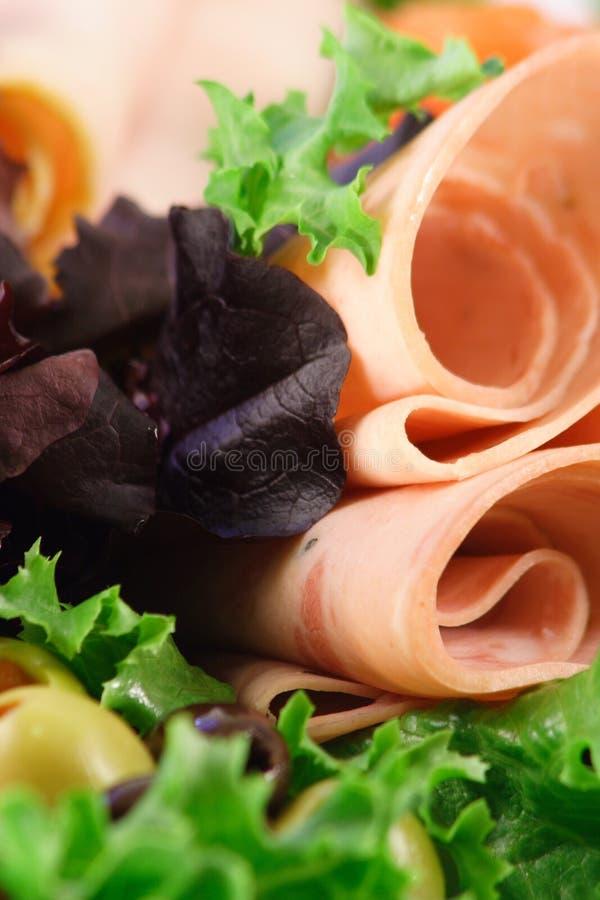 Carnes orgânicas do supermercado fino fotos de stock royalty free