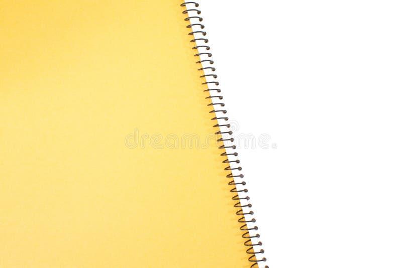 Download Carnet d'isolement image stock. Image du blanc, spirale - 87701019