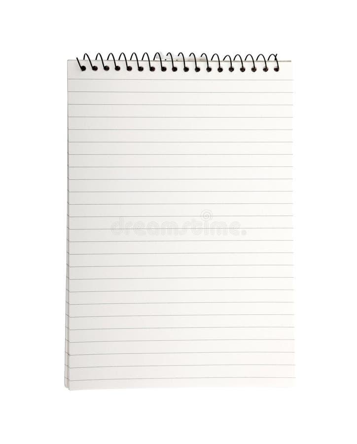 Carnet de cahier. photographie stock libre de droits