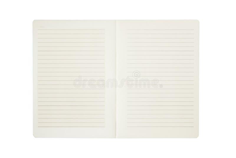 carnet de papier avec la ligne d 39 isolement sur le fond blanc image stock image du bloc papier. Black Bedroom Furniture Sets. Home Design Ideas