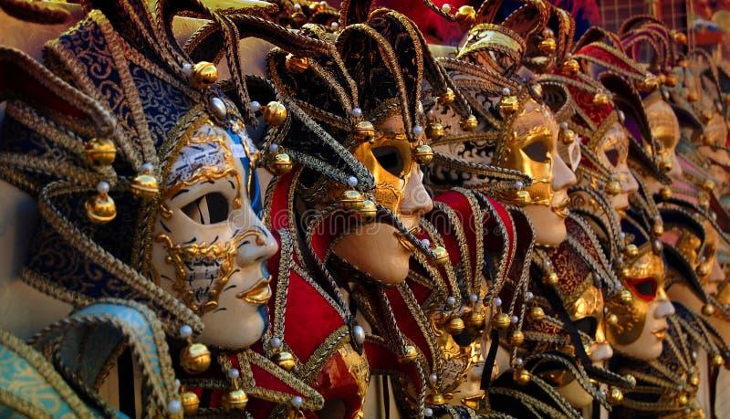 carneval σειρά Βενετός μασκών στοκ εικόνα