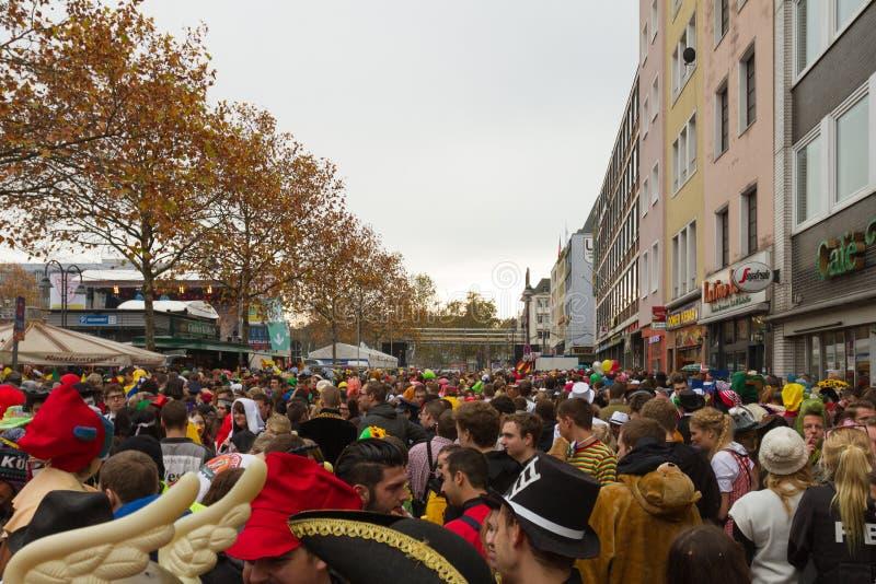 Carneval Colonia fotografia stock