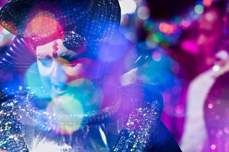 carnevale 2011 di viareggio arkivbild