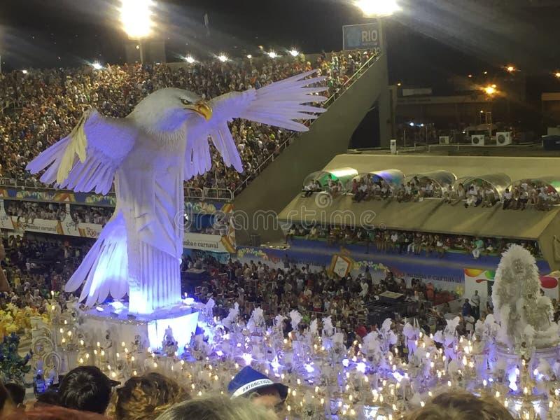 Carnevale brasiliano fotografia stock