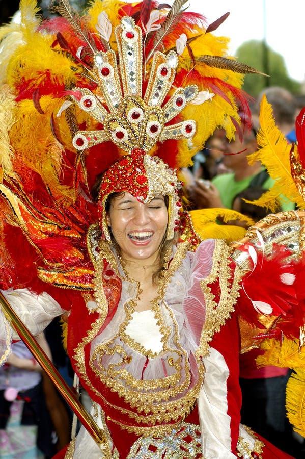Carnevale brasiliano. fotografie stock libere da diritti