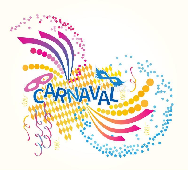 Carnevale brasiliano royalty illustrazione gratis