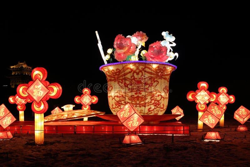 Carnevale cinese 2013 della lanterna del nuovo anno immagine stock