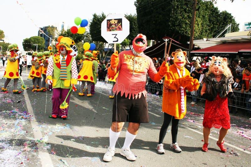 Carnevale in Cipro immagini stock libere da diritti