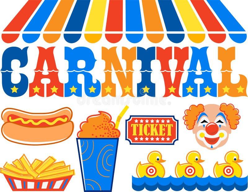 Carnevale Clipart/ENV illustrazione vettoriale