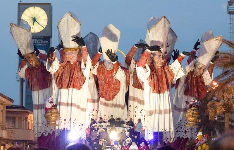 Carnevale del Viareggio immagini stock libere da diritti