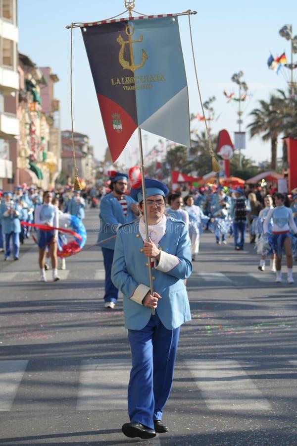Carnevale del Viareggio fotografie stock