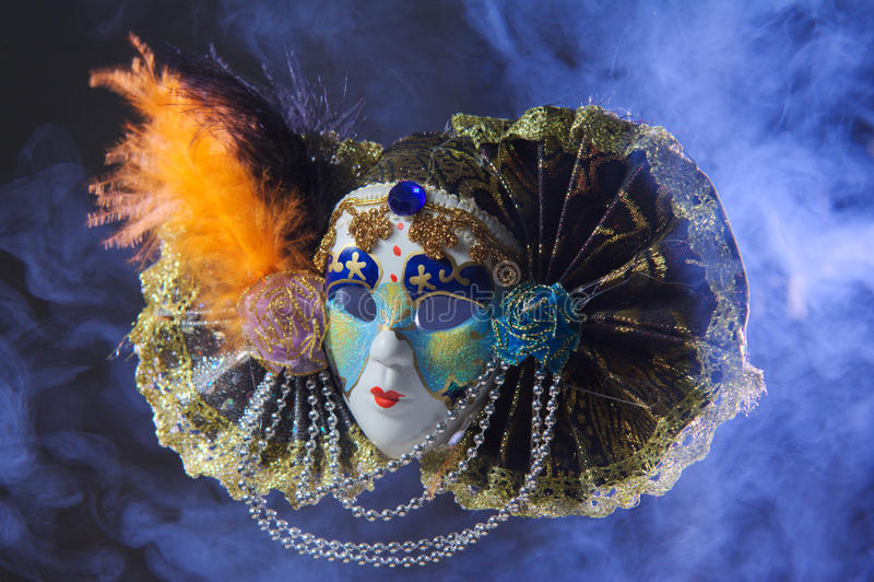 Carnevale della maschera fotografia stock