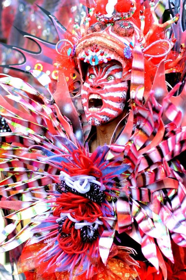 Carnevale di modo di Jember fotografie stock