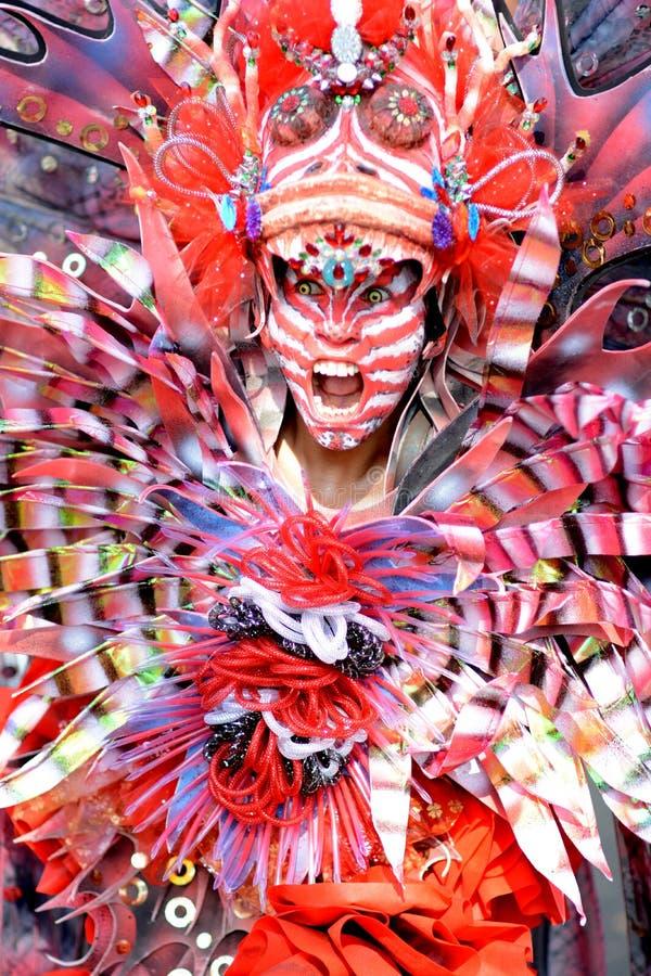 Carnevale di modo di Jember immagini stock