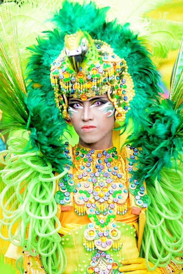 Carnevale di modo di Jember fotografia stock
