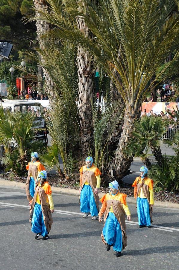 Carnevale di Nizza, Francia. fotografia stock libera da diritti