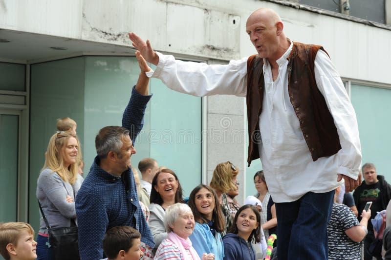 Carnevale di Roald Dahl in Aylesbury, Buckinghamshire immagini stock
