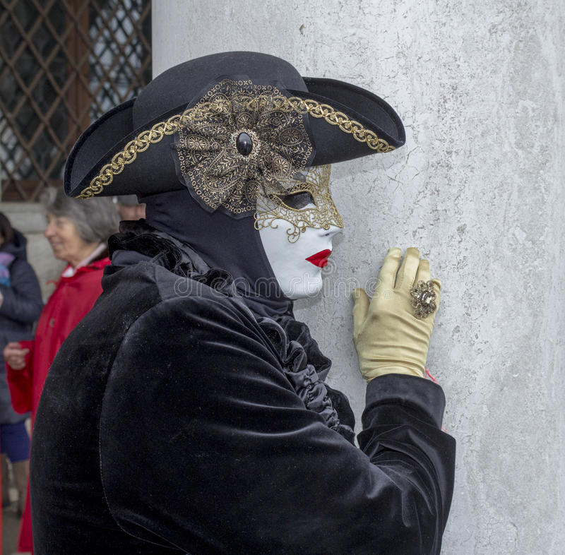 carnevale di venezia arkivfoton