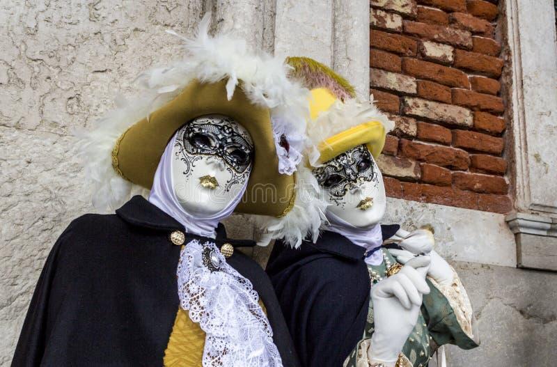 carnevale di venezia royaltyfria bilder