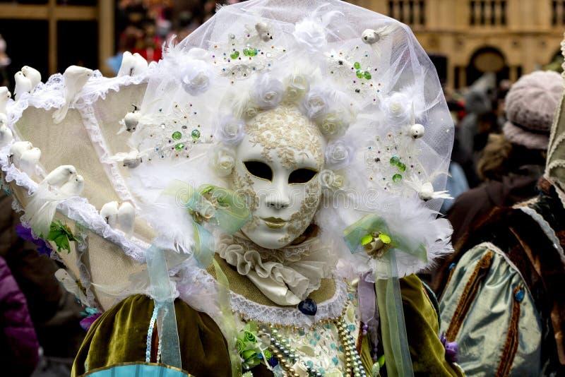 carnevale di venezia fotografering för bildbyråer