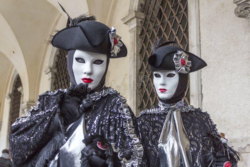 carnevale di venezia royaltyfri fotografi