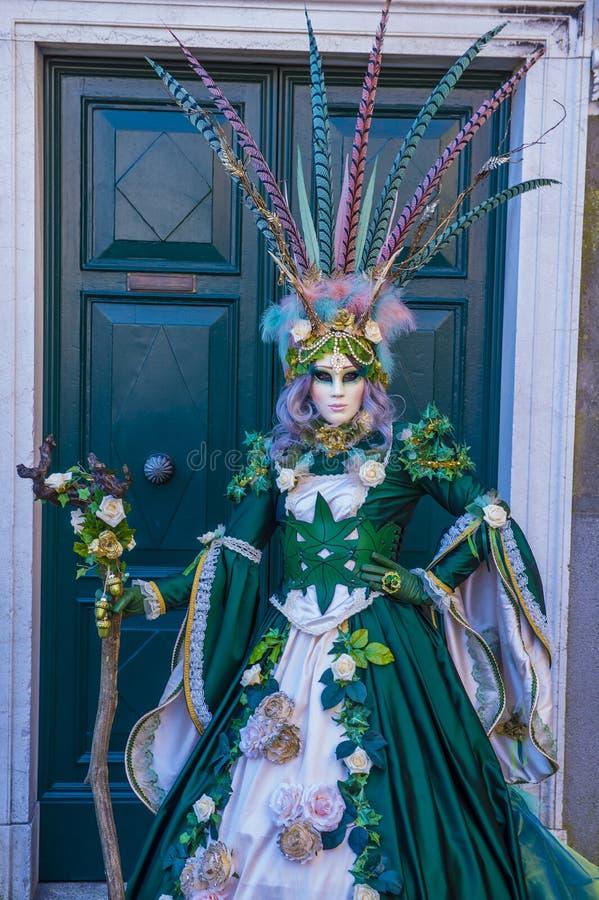 Carnevale di Venezia 2019 immagine stock libera da diritti
