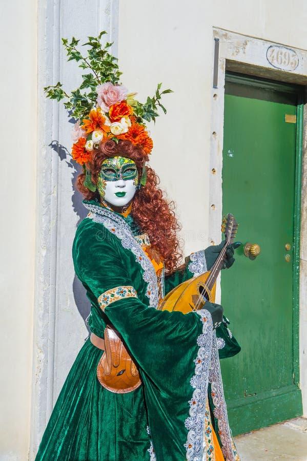 Carnevale di Venezia 2019 fotografia stock