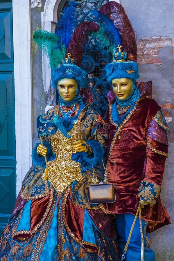 Carnevale di Venezia 2019 immagini stock libere da diritti