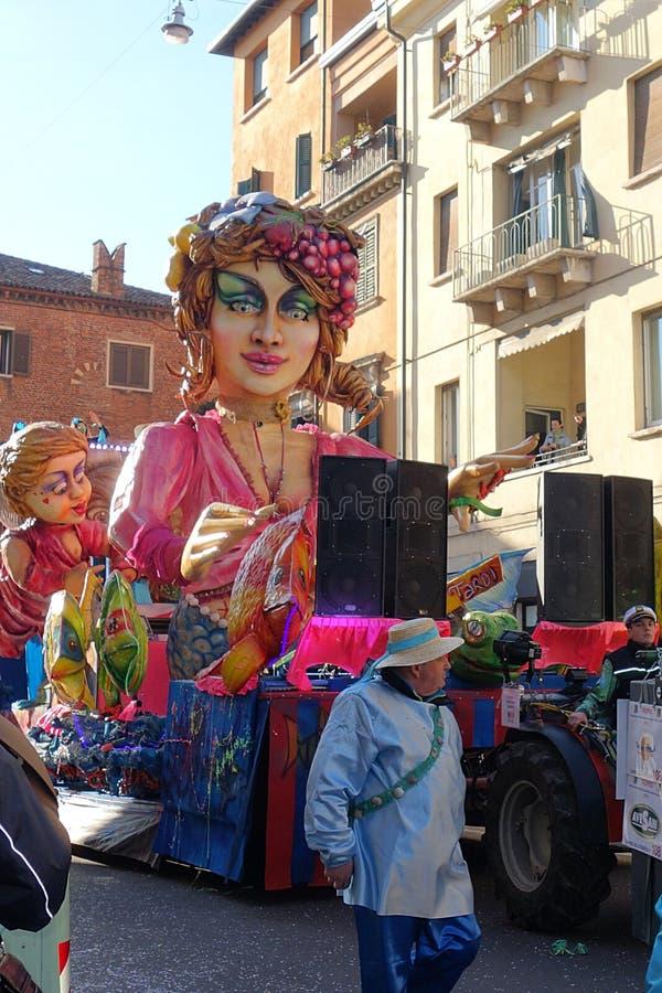 Carnevale di Verona, Italia fotografia stock libera da diritti