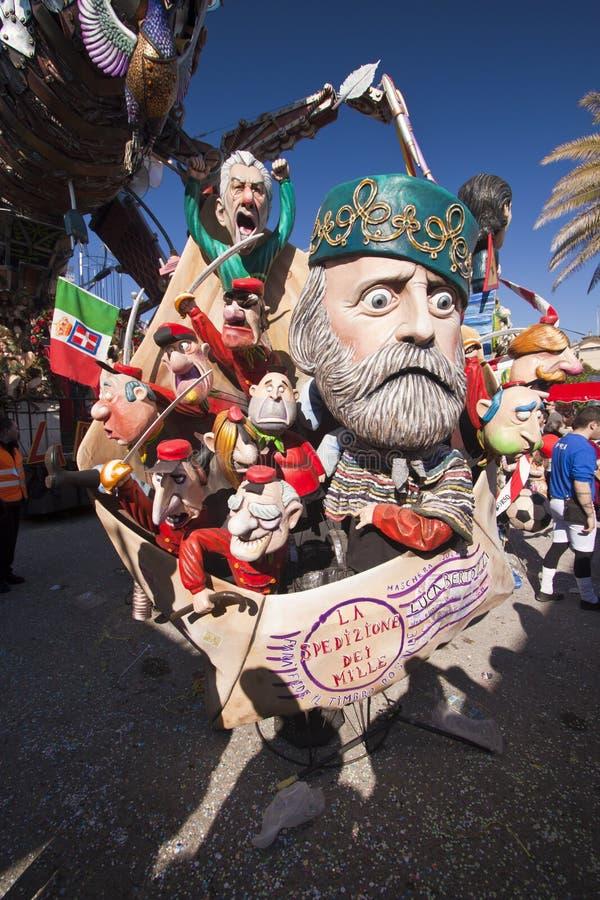 Carnevale di Viareggio immagini stock libere da diritti