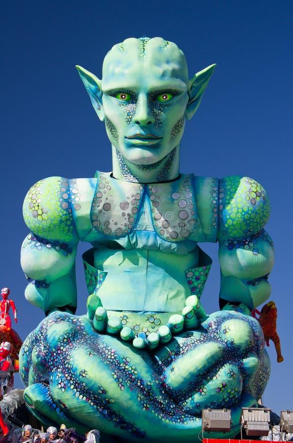 Carnevale di viareggio 2011 immagini stock libere da diritti