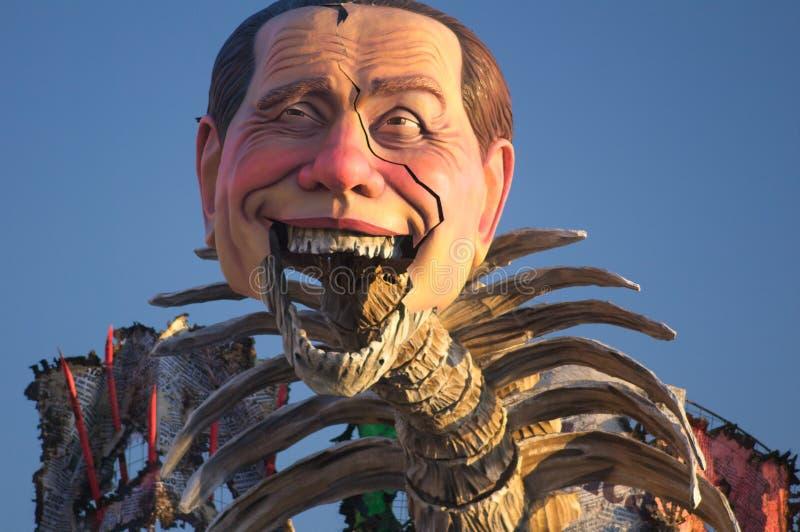 Carnevale di viareggio 2011 stock image